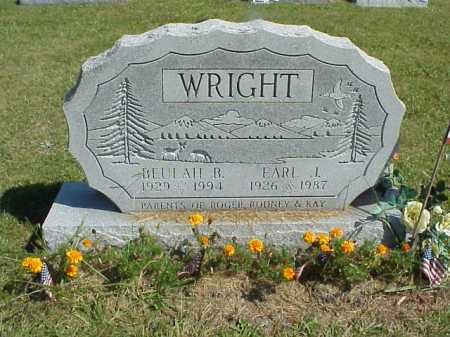 WRIGHT, EARL J. - Meigs County, Ohio | EARL J. WRIGHT - Ohio Gravestone Photos