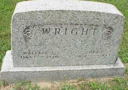 WRIGHT, CORA L. - Meigs County, Ohio | CORA L. WRIGHT - Ohio Gravestone Photos