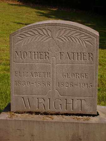 WRIGHT, ELIZABETH - Meigs County, Ohio | ELIZABETH WRIGHT - Ohio Gravestone Photos