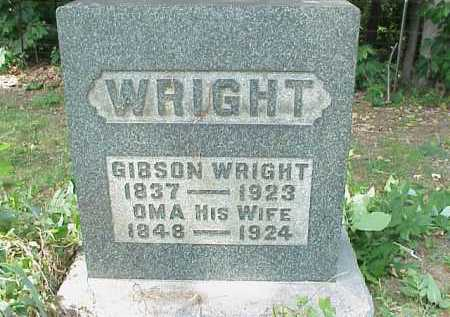 WRIGHT, GIBSON - Meigs County, Ohio | GIBSON WRIGHT - Ohio Gravestone Photos
