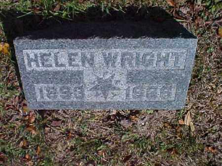 WRIGHT, HELEN - Meigs County, Ohio | HELEN WRIGHT - Ohio Gravestone Photos