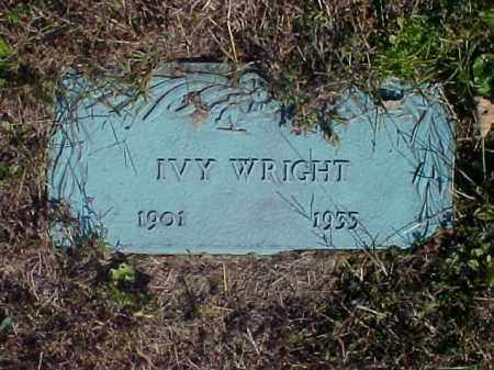 WRIGHT, IVY - Meigs County, Ohio | IVY WRIGHT - Ohio Gravestone Photos