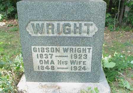 WRIGHT, OMA - Meigs County, Ohio | OMA WRIGHT - Ohio Gravestone Photos