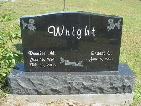 WRIGHT, ROSELEE M. - Meigs County, Ohio | ROSELEE M. WRIGHT - Ohio Gravestone Photos
