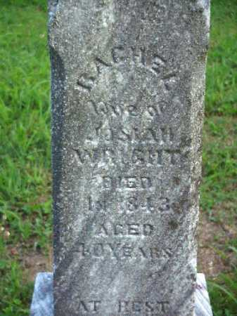 WRIGHT, RACHEL - Meigs County, Ohio   RACHEL WRIGHT - Ohio Gravestone Photos