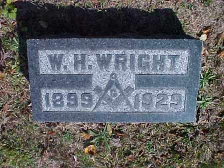 WRIGHT, W. H. - Meigs County, Ohio | W. H. WRIGHT - Ohio Gravestone Photos