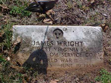 WRIGTH, JAMES - Meigs County, Ohio | JAMES WRIGTH - Ohio Gravestone Photos