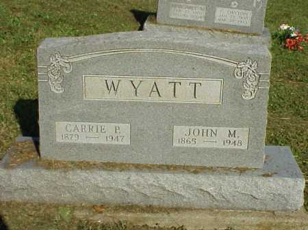 BLEVINS WYATT, CARRIE PAULINE - Meigs County, Ohio | CARRIE PAULINE BLEVINS WYATT - Ohio Gravestone Photos