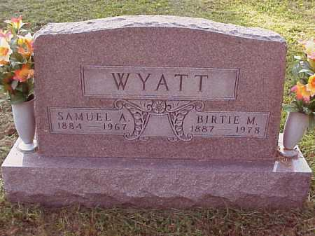 WYATT, BIRTIE M. - Meigs County, Ohio | BIRTIE M. WYATT - Ohio Gravestone Photos