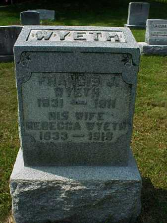 GRATE WYETH, REBECCA - Meigs County, Ohio | REBECCA GRATE WYETH - Ohio Gravestone Photos