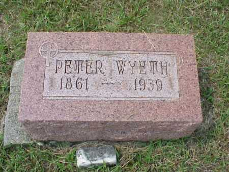 WYETH, PETER - Meigs County, Ohio | PETER WYETH - Ohio Gravestone Photos