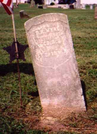 WYNE, D. R. - Meigs County, Ohio | D. R. WYNE - Ohio Gravestone Photos
