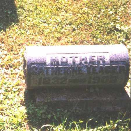 YEAGER, CATHERINE - Meigs County, Ohio | CATHERINE YEAGER - Ohio Gravestone Photos
