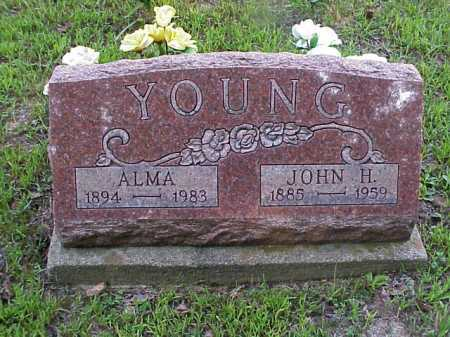 YOUNG, JOHN H. - Meigs County, Ohio | JOHN H. YOUNG - Ohio Gravestone Photos