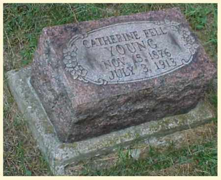 YOUNG, CATHERINE - Meigs County, Ohio | CATHERINE YOUNG - Ohio Gravestone Photos