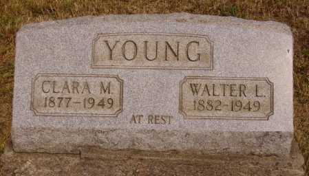 YOUNG, CLARA M. - Meigs County, Ohio | CLARA M. YOUNG - Ohio Gravestone Photos