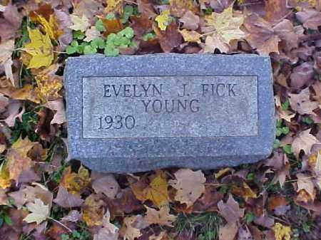 YOUNG, EVELYN J. - Meigs County, Ohio | EVELYN J. YOUNG - Ohio Gravestone Photos