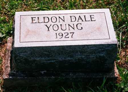 YOUNG, ELDON DALE - Meigs County, Ohio | ELDON DALE YOUNG - Ohio Gravestone Photos