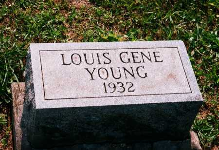 YOUNG, LOUIS GENE - Meigs County, Ohio | LOUIS GENE YOUNG - Ohio Gravestone Photos