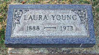YOUNG, LAURA - Meigs County, Ohio | LAURA YOUNG - Ohio Gravestone Photos