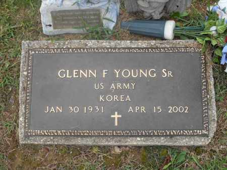 YOUNG SR., GLENN F. - Meigs County, Ohio | GLENN F. YOUNG SR. - Ohio Gravestone Photos