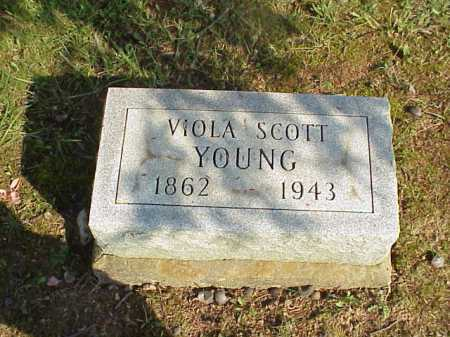 YOUNG, VIOLA - Meigs County, Ohio | VIOLA YOUNG - Ohio Gravestone Photos