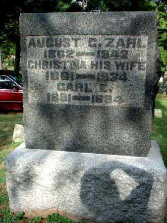 YEAGER ZAHL, CHRISTINA - Meigs County, Ohio | CHRISTINA YEAGER ZAHL - Ohio Gravestone Photos