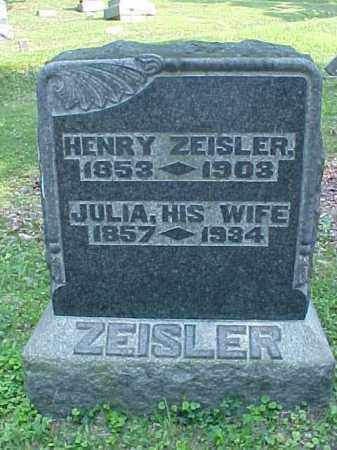 ZEISLER, JULIA - Meigs County, Ohio | JULIA ZEISLER - Ohio Gravestone Photos
