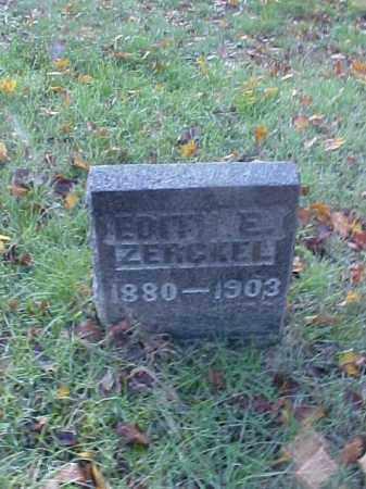 ZERCKEL, EDITH E. - Meigs County, Ohio | EDITH E. ZERCKEL - Ohio Gravestone Photos