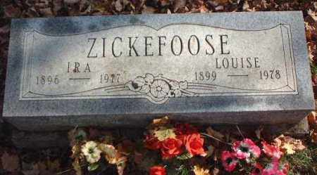 ZICKEFOOSE, LOUISE - Meigs County, Ohio | LOUISE ZICKEFOOSE - Ohio Gravestone Photos