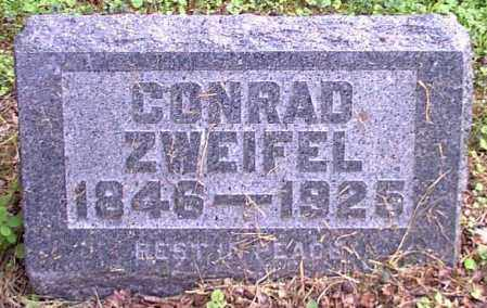 ZWEIFEL, CONRAD - Meigs County, Ohio | CONRAD ZWEIFEL - Ohio Gravestone Photos