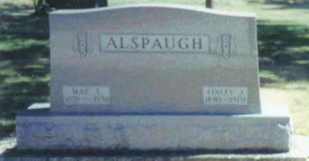 HILEMAN ALSPAUGH, MAE AMELIA - Mercer County, Ohio | MAE AMELIA HILEMAN ALSPAUGH - Ohio Gravestone Photos