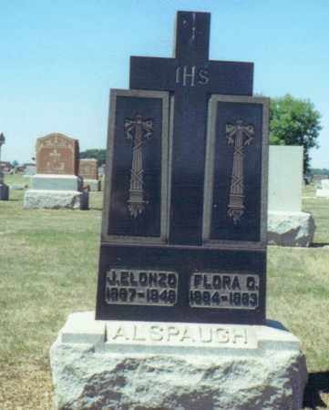 LAUKHART ALSPAUGH, FLORA C. - Mercer County, Ohio | FLORA C. LAUKHART ALSPAUGH - Ohio Gravestone Photos