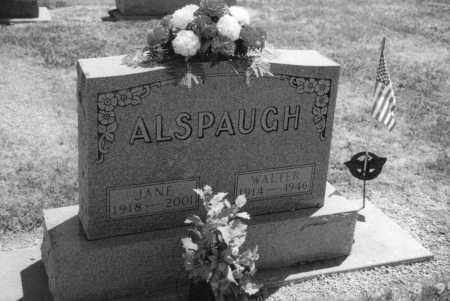 "BORCHERS ALSPAUGH, ELIZABETH ""JANE"" - Mercer County, Ohio 