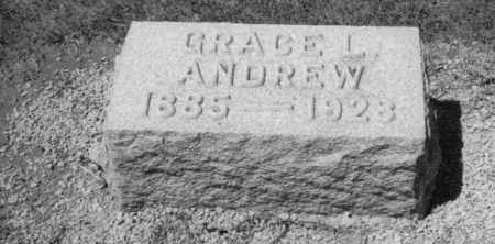 ALSPAUGH ANDREW, GRACE L - Mercer County, Ohio | GRACE L ALSPAUGH ANDREW - Ohio Gravestone Photos