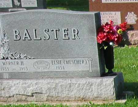 MESCHER BALSTER, ELSIE - Mercer County, Ohio | ELSIE MESCHER BALSTER - Ohio Gravestone Photos