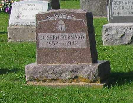 BERNARD, JOSEPH - Mercer County, Ohio | JOSEPH BERNARD - Ohio Gravestone Photos