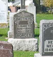 BORGES, ELISABETH - Mercer County, Ohio | ELISABETH BORGES - Ohio Gravestone Photos