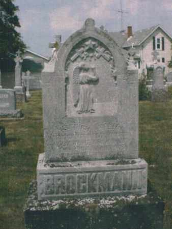 BROCKMAN, HEINRICK - Mercer County, Ohio | HEINRICK BROCKMAN - Ohio Gravestone Photos