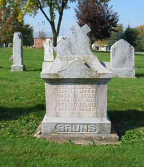 BRUNS, CAROLINE - Mercer County, Ohio | CAROLINE BRUNS - Ohio Gravestone Photos
