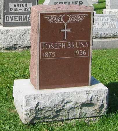 BRUNS, JOSEPH - Mercer County, Ohio | JOSEPH BRUNS - Ohio Gravestone Photos