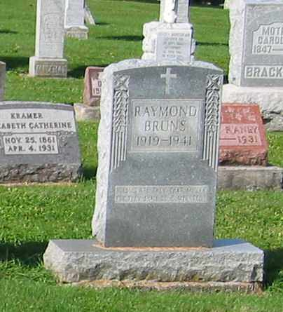 BRUNS, RAYMOND - Mercer County, Ohio | RAYMOND BRUNS - Ohio Gravestone Photos