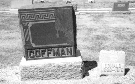 COFFMAN, DONALD - Mercer County, Ohio | DONALD COFFMAN - Ohio Gravestone Photos