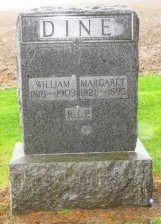 DINE, WILLIAM - Mercer County, Ohio | WILLIAM DINE - Ohio Gravestone Photos