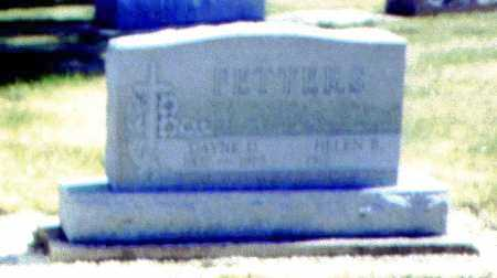 FETTERS, DAYNE D. - Mercer County, Ohio | DAYNE D. FETTERS - Ohio Gravestone Photos