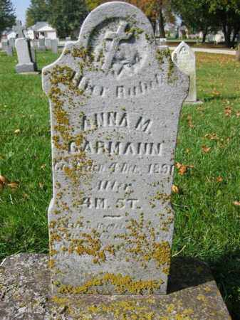GARMANN, ANNA M - Mercer County, Ohio | ANNA M GARMANN - Ohio Gravestone Photos