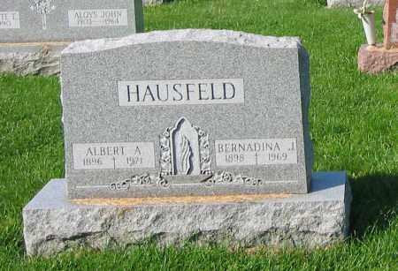 HAUSFELD, ALBERT A - Mercer County, Ohio | ALBERT A HAUSFELD - Ohio Gravestone Photos