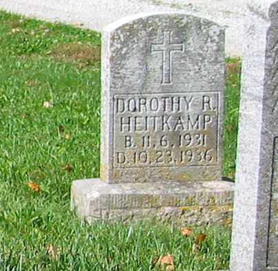 HEITKAMP, DOROTHY R - Mercer County, Ohio | DOROTHY R HEITKAMP - Ohio Gravestone Photos