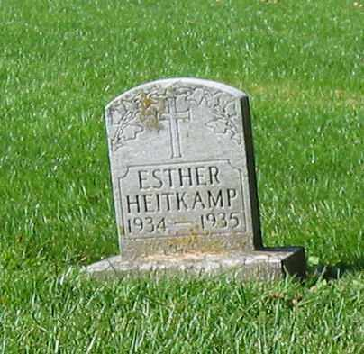 HEITKAMP, ESTHER - Mercer County, Ohio | ESTHER HEITKAMP - Ohio Gravestone Photos