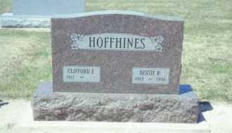HOFFHINES, CLIFFORD ELIAS - Mercer County, Ohio | CLIFFORD ELIAS HOFFHINES - Ohio Gravestone Photos